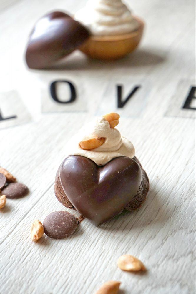 Fondants au chocolat chantilly caramel - Rappelle toi des mets