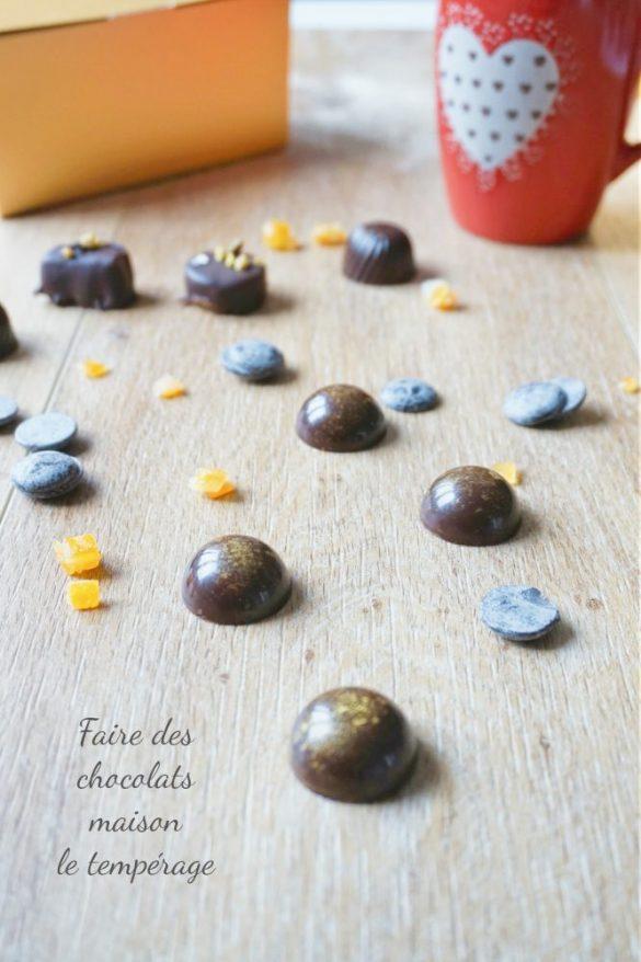 Comment tempérer du chocolat et faire des chocolats maison