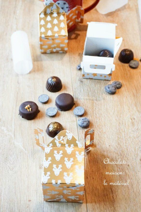 Faire ses chocolats maison : le matériel