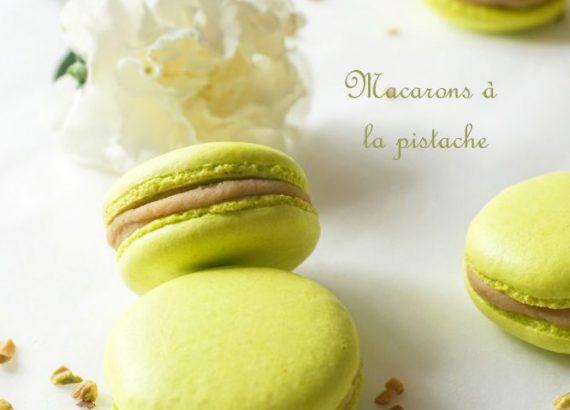 Macarons à la pistache - Rappelle toi des mets