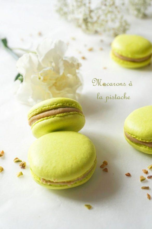 Macarons à la pistache, Défi Cuisineaddict N°2