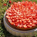 Tarte aux fraises - Rappelle toi des mets