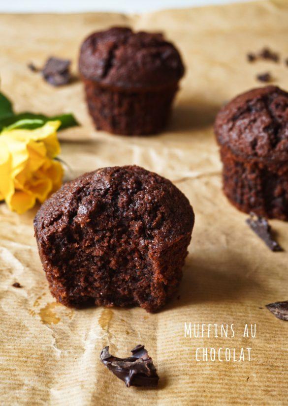 Muffins au chocolat trop bons!