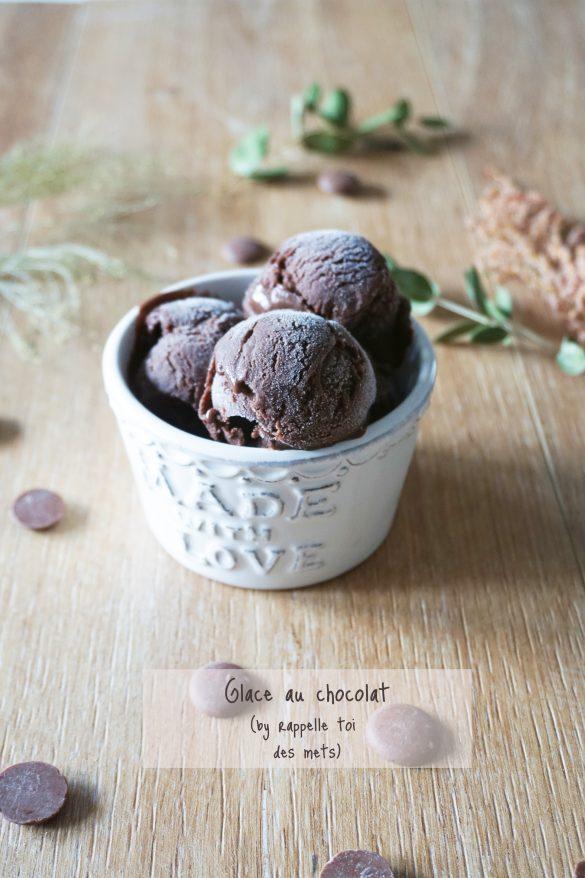 Glace au chocolat maison