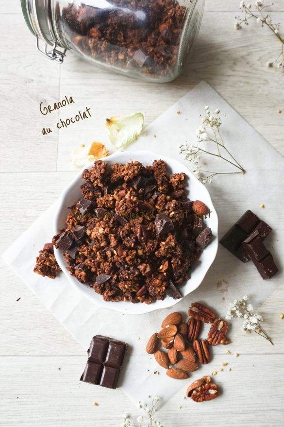 Granola au chocolat IG bas