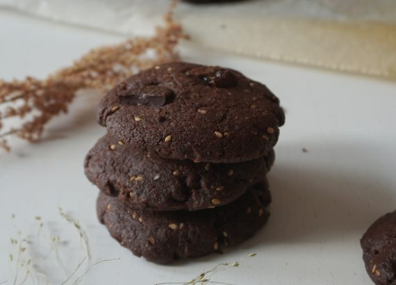 Cookies tahini chocolat