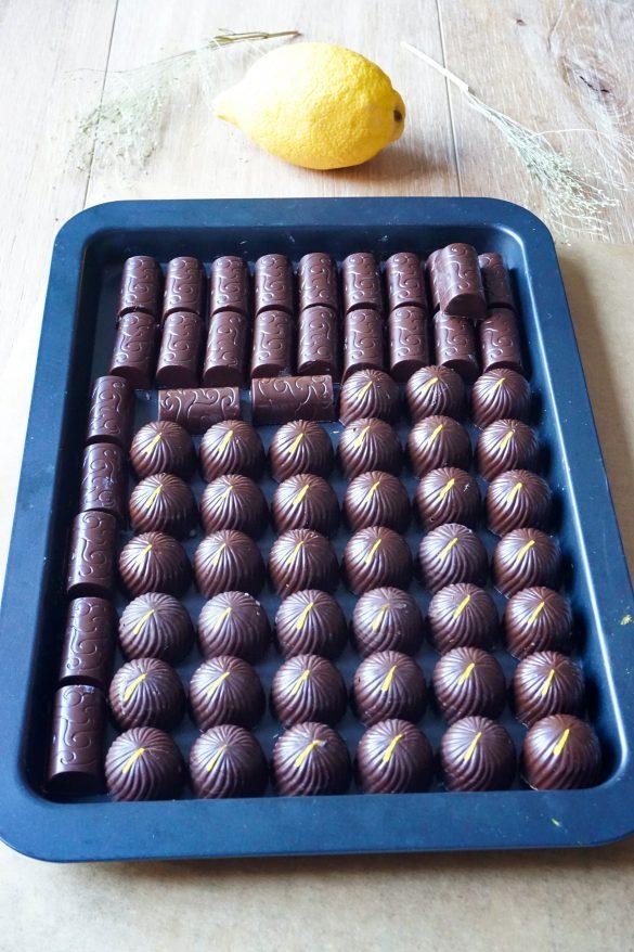 Recettes de bonbons chocolat : praliné, citron ou chocolat blanc
