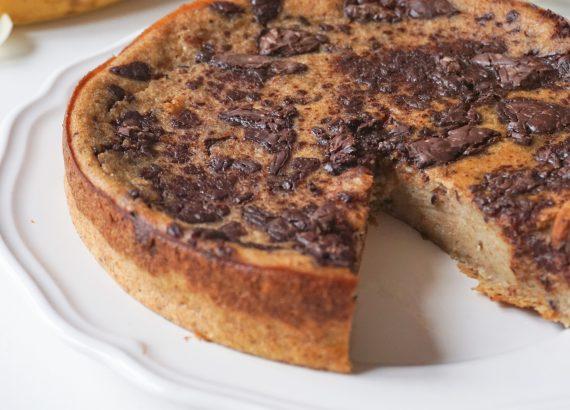 Pudding banane chocolat