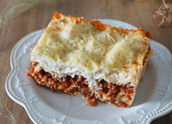Lasagnes à la bolognaise - Rappelle toi des mets